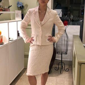 Tahari 3 Piece Allie Skirt Set in Pink